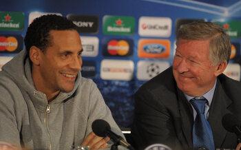Quand Rio Ferdinand trolle Sir Alex Ferguson avant Angleterre-Ecosse