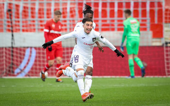 Anouar Ait El Hadj, le coeur du jeu d'Anderlecht