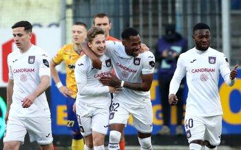 Qualifié pour la Coupe d'Europe, Anderlecht peut aborder les playoffs 1 sereinement
