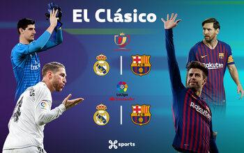 Copa del Rey : demi-finale retour explosive Real - Barça en direct sur Proximus TV !