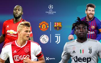 Ligue des champions : ManU - Barça et Ajax - Juventus, duels d'anciens vainqueurs !