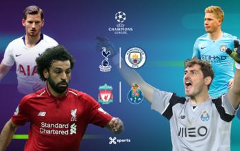 Kwartfinales UEFA Champions League worden afgetrapt