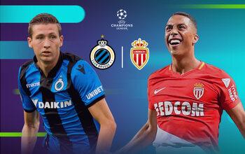 Ligue des champions : Club Bruges - Monaco, le match de la dernière chance