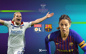 Regardez la finale de la Ligue des champions féminine en direct sur Proximus TV !