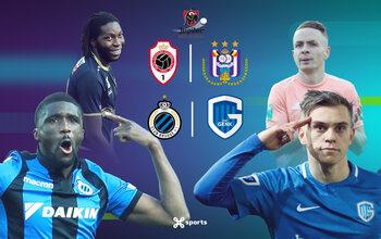 Pakt Genk zondag de titel op het veld van Club Brugge?