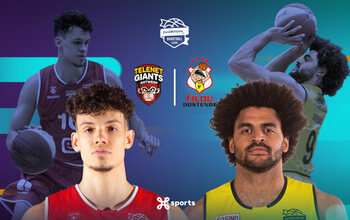Suivez Antwerp Giants - Filou Ostende samedi en direct sur Proximus TV !