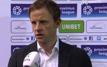 Euvrad (OHL) est content de la prestation des remplaçants, Gretarsson (Roulers) déplore la naïveté de son équipe