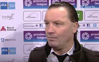 Gretarsson (Roulers) « Mes joueurs ont joué en équipe » et Vreven (Beerschot) « Je suis très déçu du résultat »