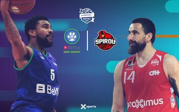 Suivez la rencontre Mons-Hainaut - Spirou Basket en direct sur Proximus TV !
