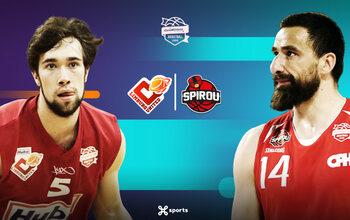 Suivez Limburg United - Spirou Basket vendredi en direct sur Proximus TV