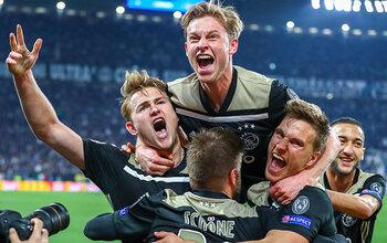 UEFA Champions League: Bekijk de stunt van Ajax op het veld van Juventus