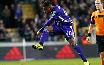 Francis Amuzu est le joueur du mois de novembre à Anderlecht !