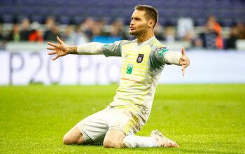 Thomas Didillon est le joueur du mois de septembre d'Anderlecht !