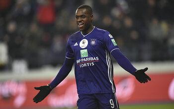 Landry Dimata est le joueur du mois de décembre à Anderlecht !