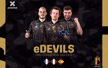 Retrouvez les eDevils en eNations Friendly Cup en livestream sur Pickx.be et sur Pickx Live