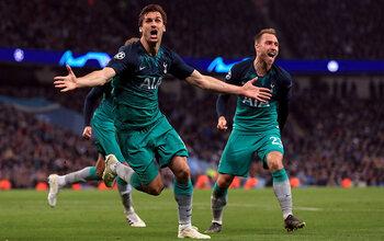 UEFA Champions League: Bekijk het spektakelstuk tussen Manchester City en Tottenham