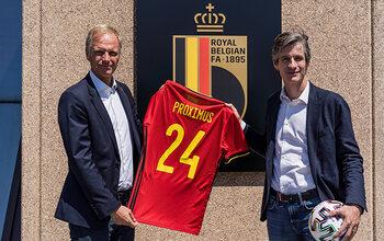 De Belgische Voetbalbond en Proximus vernieuwen samenwerking