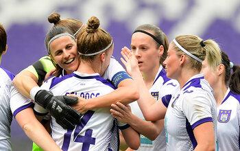 Bekijk de eerste wedstrijd van de RSCA-vrouwen in de Champions League live