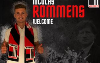 Le RWDM signe Nicolas Rommens (ex-Roeselare et Westerlo)