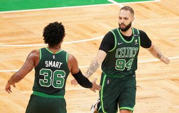 Début d'aventure compliqué pour Evan Fournier chez les Celtics