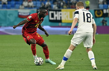 Jérémy Doku a encore marqué des points contre la Finlande