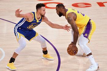 Lakers - Warriors ou LeBron vs Curry : une affiche de playoffs pour démarrer le play-in tournament