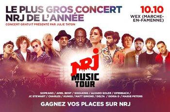 NRJ Music Tour : découvrez quelles stars vont enflammer la scène !