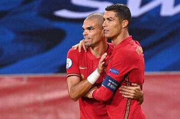 Porto - Juventus : retrouvailles entre amis pour Pepe et Ronaldo