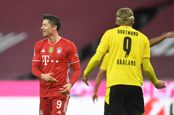 Gaat Haaland Lewandowski opvolgen bij Bayern München?