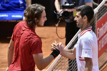 Djokovic-Tsitsipas, une finale aux allures de choc des générations à Roland-Garros