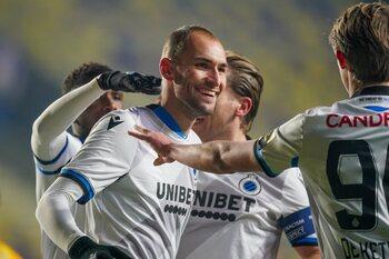 Club Brugge, met scorende Bas Dost in debuutmatch, is de winnaar van het weekend