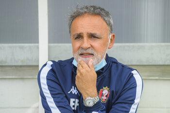 Emilio Ferrera (alweer) niet op de bank bij RFC Seraing