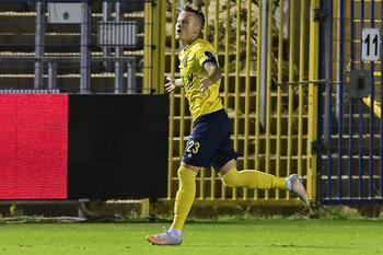 """Sigurdarson (Union) : """"3 buts, 3 points, un plaisir énorme"""""""