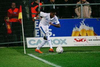Hattrickheld Selemani (Union) op handtekeningenjacht na match tegen Waasland-Beveren