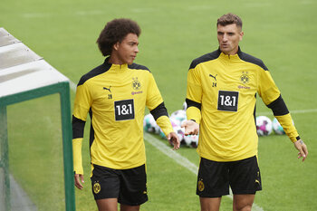 Meunier, Witsel, Hazard: un trio noir-jaune-rouge pour porter Dortmund