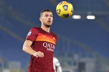 Malgré les années, Edin Dzeko continue à tirer la Roma