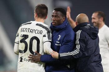 Daouda Peeters attend ses premières minutes de la saison avec la Juventus