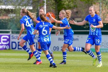 Snoepen de dames van KAA Gent ook punten af van Anderlecht in de Scooore Super League?