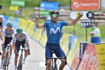 Alejandro Valverde wint op 41-jarige leeftijd een rit in Dauphiné!