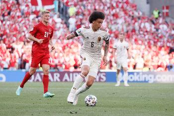 Retour réussi et rempli d'émotion pour Axel Witsel contre le Danemark
