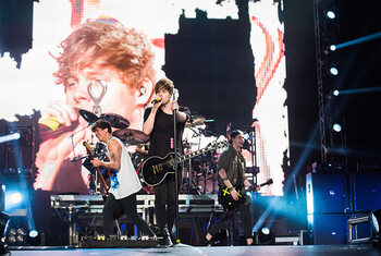 5 Seconds of Summer en concert à Forest National