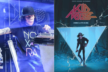 Gagnez votre exemplaire de The Man with a Monkey Face de Kid Noize!