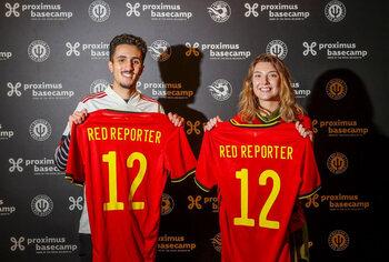 Janne Michels et Amine Serock sont les nouveaux Belgian Red Reporters (+ vidéo)