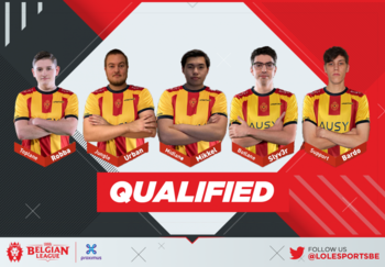 De reus KVM Esports vliegt ongeslagen naar de grote finale van de Belgian League