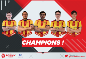 KVM Esports kroont zich tot Spring Split-kampioen van de Belgian League!