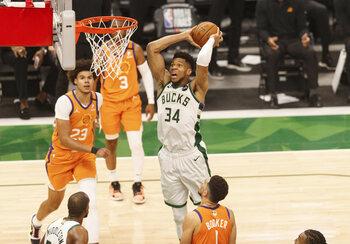 Les Milwaukee Bucks ne sont plus qu'à une victoire du titre en NBA