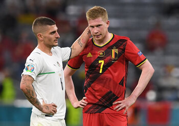 Qu'a-t-il manqué à la Belgique face à l'Italie?