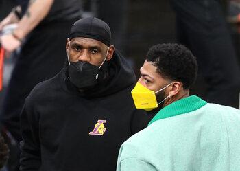 Privés de LeBron James et Anthony Davis, les Lakers sont-ils en danger?