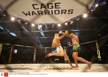 Cage Warriors twee jaar langer live op Eleven Sports