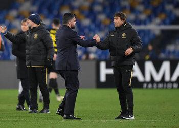Napoli – Inter Milan ou le duel des coachs mal-aimés